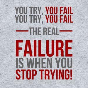 the real failure